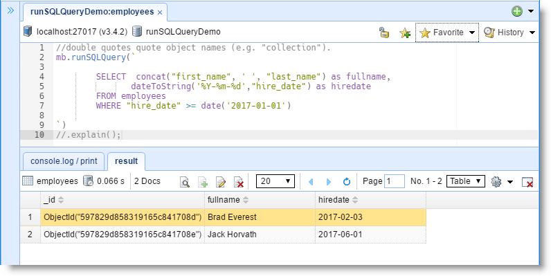 How to Query MongoDB with SQL SELECT | NoSQLBooster for MongoDB Blog