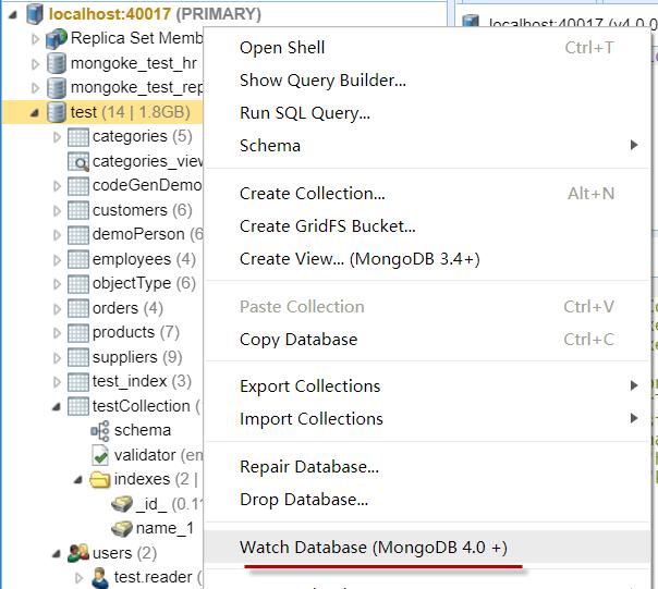 Watch Database